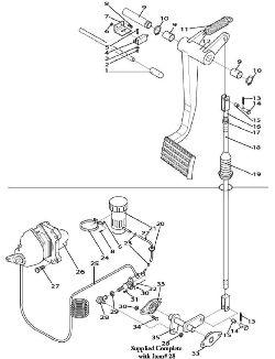 запчасти Buhler Versatile - тормозная система