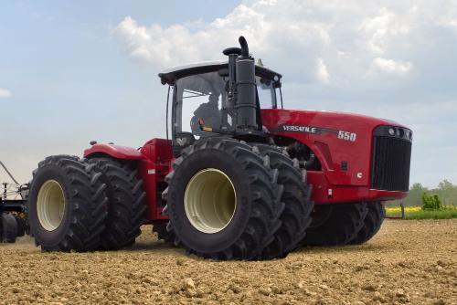 трактора Buhler Versatile 350-550 4WD Серия: 350, 375, 400 (QSM 11,9L) л.с.; 450, 500, 550 (QSM 15L) л.с.