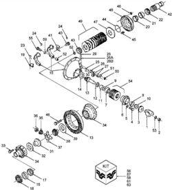 запчасти Buhler Versatile - цепь привода