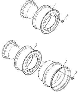 запчасти Buhler Versatile - колеса, приспособления, аксессуары
