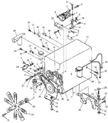запчасти Buhler Versatile - двигатель