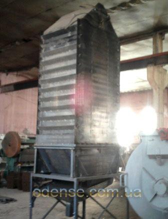 Колонна охладителя увеличенного объема с открывающимися шторками
