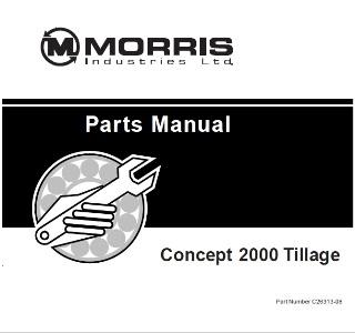 Запчасти сеялки Concept 2000 Morris