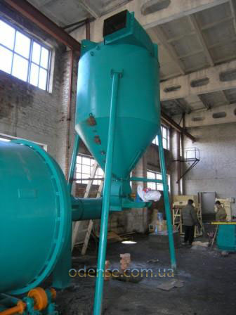 Система отвода высушенной биомассы