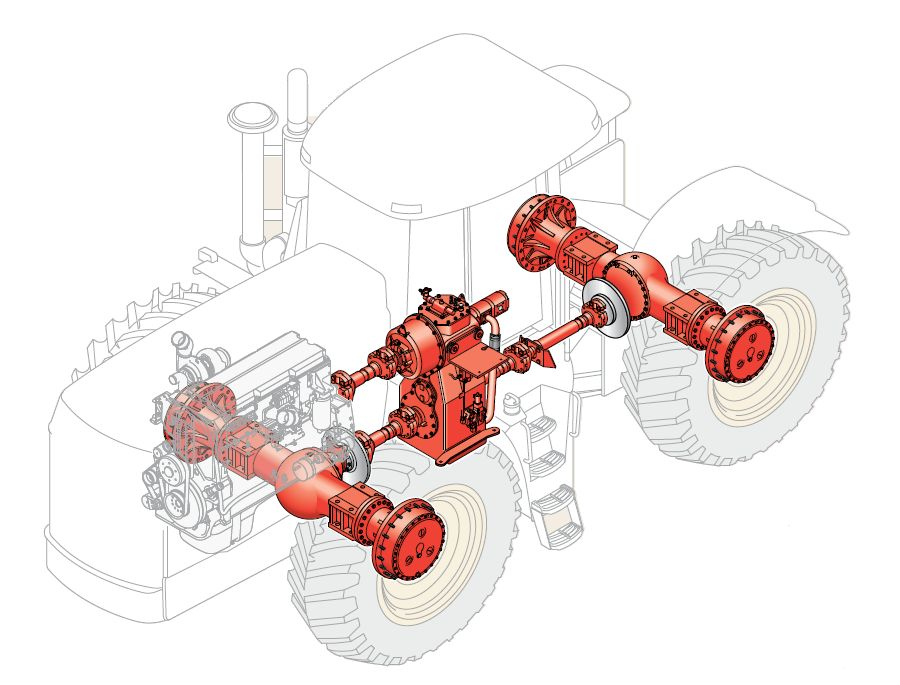 Трактор Бюлер (Buhler) Versatile, цена на трактор buhler.