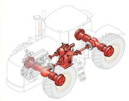 BUHLER VESATAIL Бюлер Версатайл Трактор – запасные части.