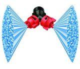 Сдвоенные полимерные веерные плоскоструйные распылительные наконечники Turbo TeeJet Duo
