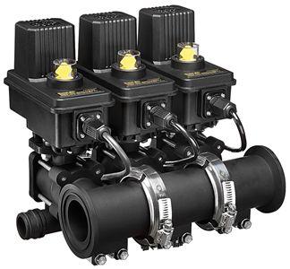 Коллектор с клапанами обратного слива 450FB и 460FB
