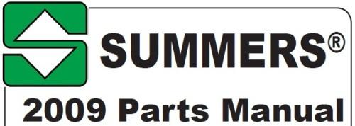 Скачать указатель запчастей Summers